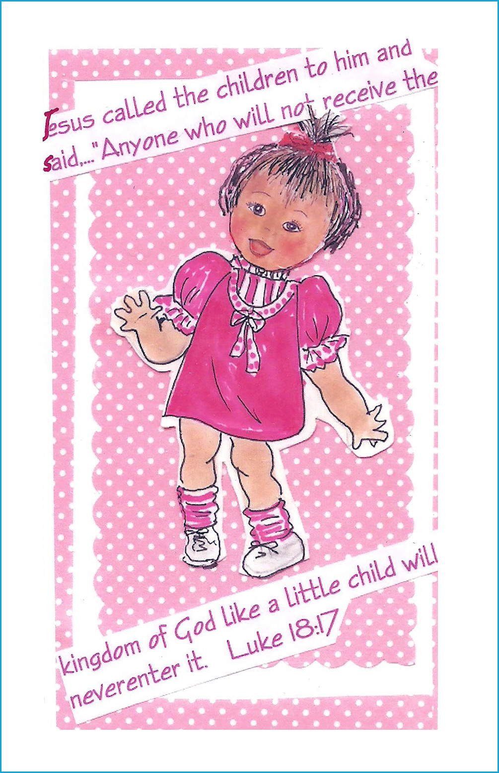 String Children : Small Color Cards
